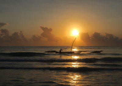 Ngalawa sunrise